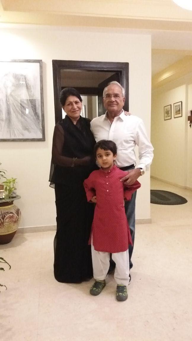 Mr. Ishan Singh and Mrs. Pushpika Singh