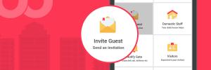 NoBrokerHood Invite Guest for residents