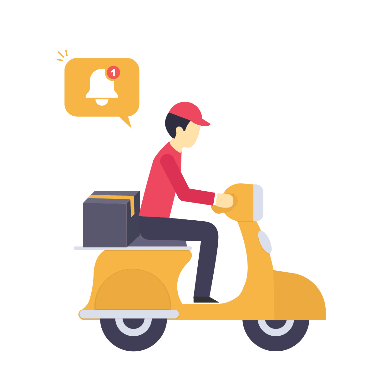 Real-time Maid_Cab_Delivery Alerts