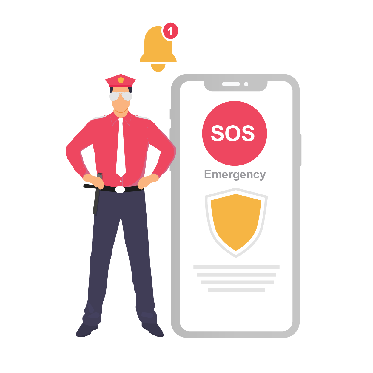 SOS Alerts for Medical & Other Emergencies