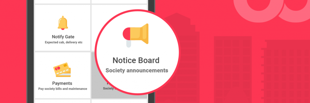 Nobrokerhood noticeboard for society members
