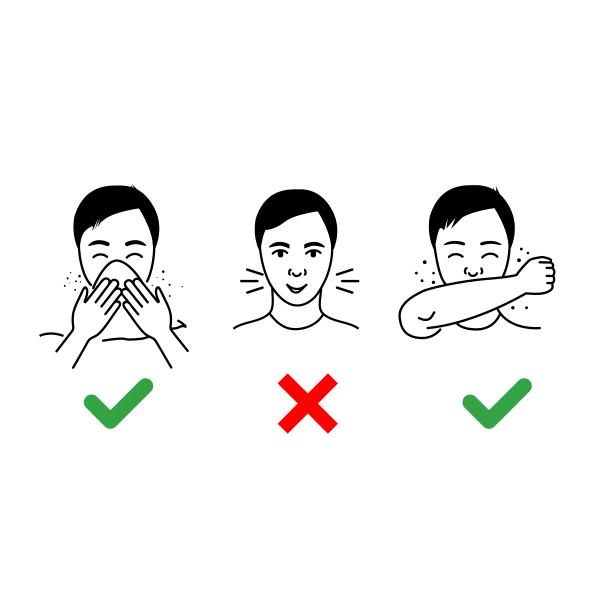 Cough etiquette- monsoon