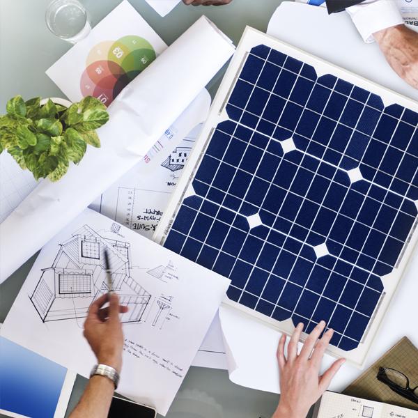 Solar panels for resident societies