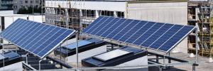 Solar panels for residential societies
