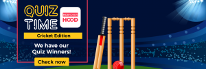 Cricket quiz winners