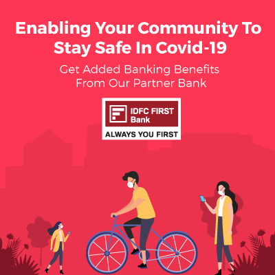 Covid safety mobile banner